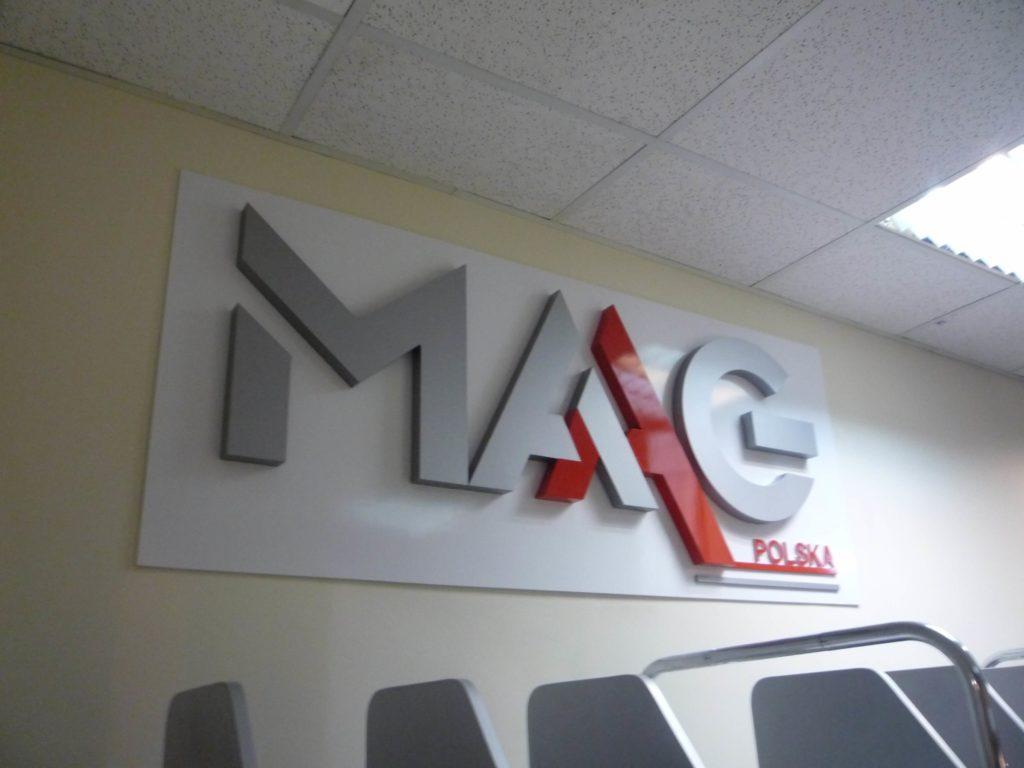 Реклама, объемные буквы